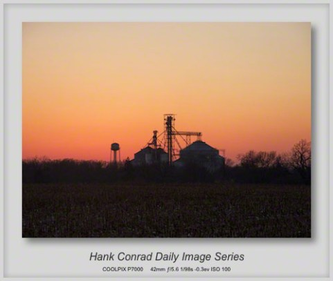 1/02/2013 Midwest Winter Sunset
