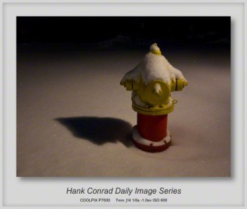 1/25/2013 One Lonely Fire Plug