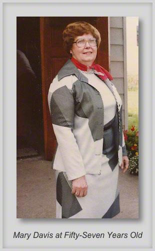 2/13/2013 Mary Davis - 57 Years Old