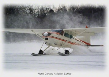 C-185 on Skis
