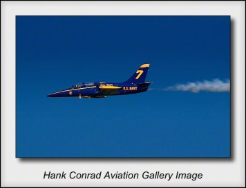 L-39 in Blue Angels Colors