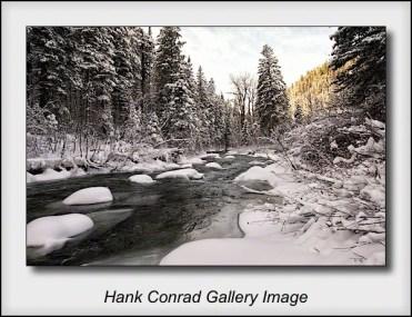 Hyalite Wnter Stream
