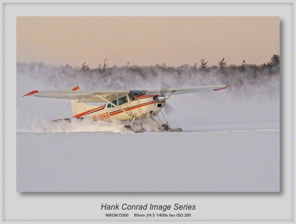Cessna 185 on Skis
