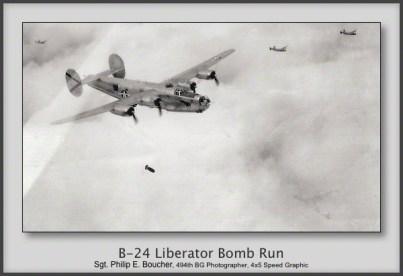 B-24 Liberator Bomb Run