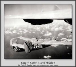 Return Koror Island Mission