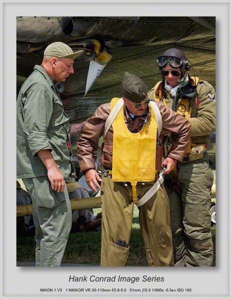 WWII Bomb Crew Reenactors