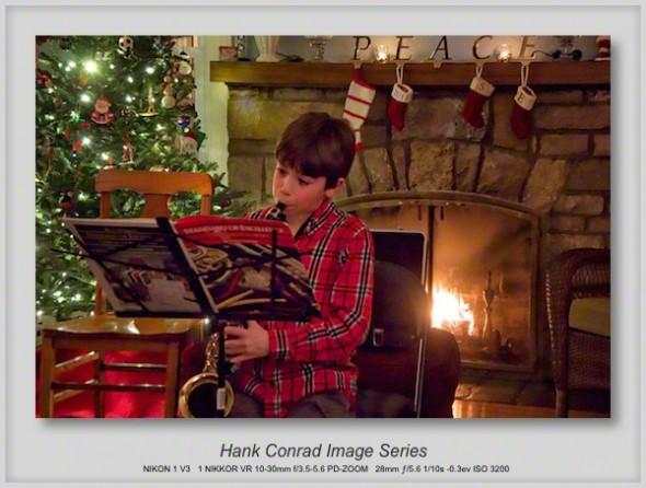 A Little Sax on Christmas Eve