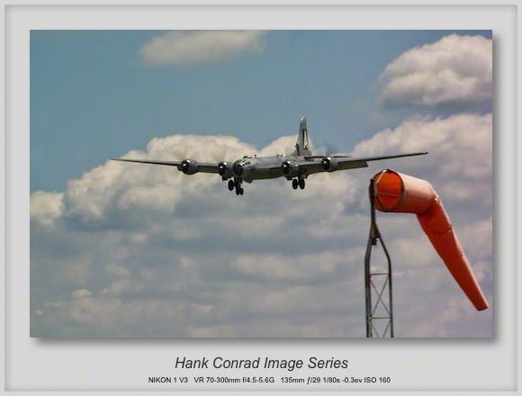 B-29 on Final