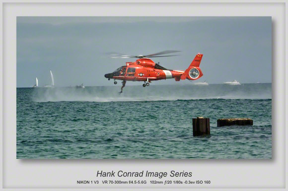 U.S. Coast Guard MH-65 Dolphin Rescue Helicopter at the Chicago Air & Water Show