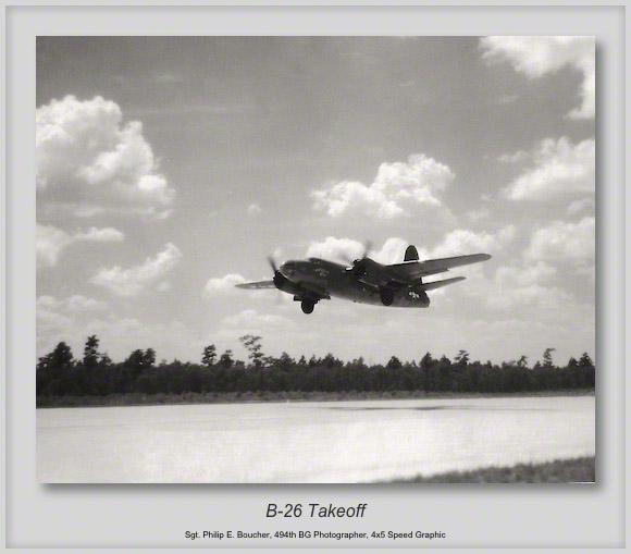 B-26 Takeoff