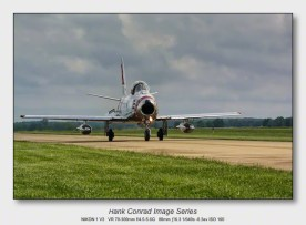 Reflections on 2017 | F-86 Sabre Taxiing