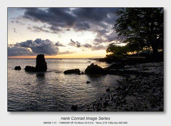 Big Island Sunsets | Warm Sunset