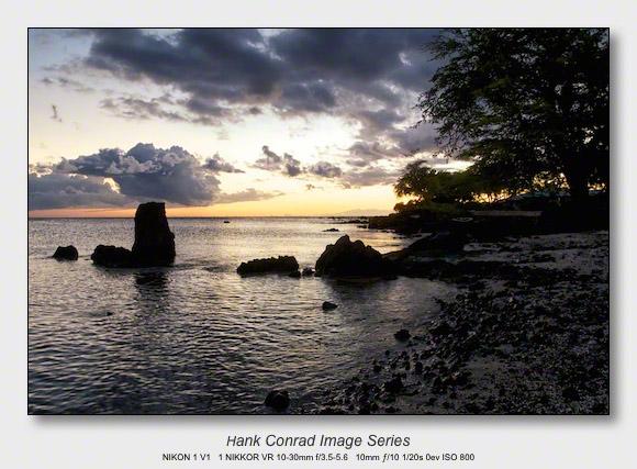 Big Island Sunsets   Warm Sunset