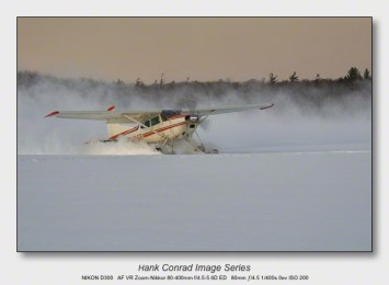 Snow Makes the Image | Lake Ice Takeoff