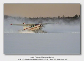 Snow Makes the Image | Lake Ice Takeoff
