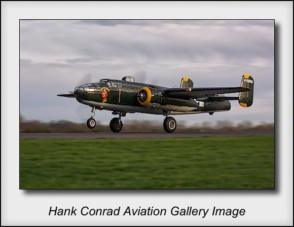 B-25 Champaign Gal at 75th Doolittle Raid Anniversary
