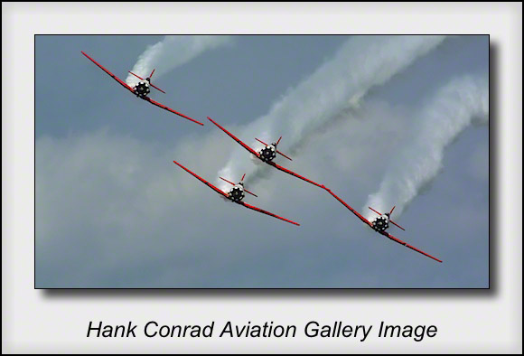 AeroShell Aerobatic Team's AT6 Texans