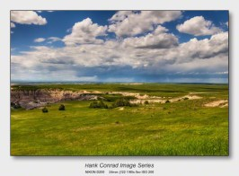On a Clear Day | Storm over the Badlands