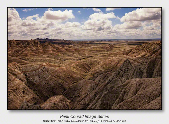 On a Clear Day | Rocks at the Badlands