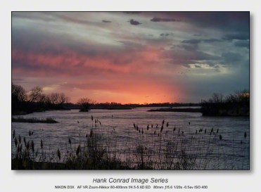 Sandhills on the Platte | Platte River Sunset