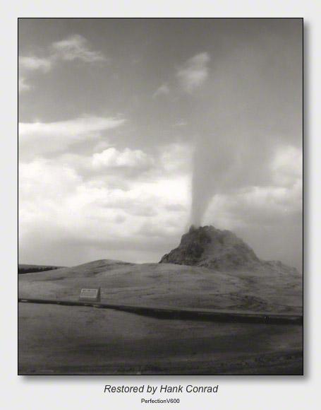 Yellowstone 1953 | White Dome Geyser