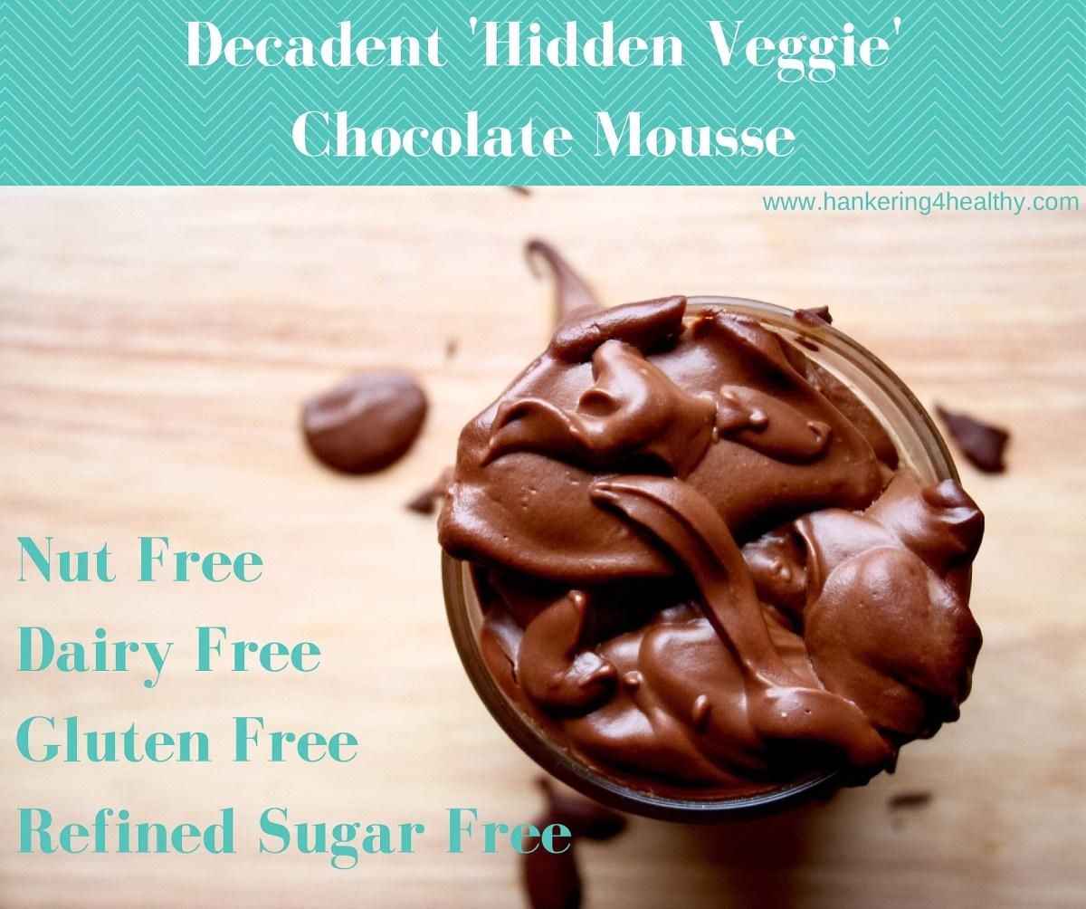 Decadent 'Hidden Veggie' Chocolate Mousse