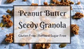 Peanut Butter Seedy Granola