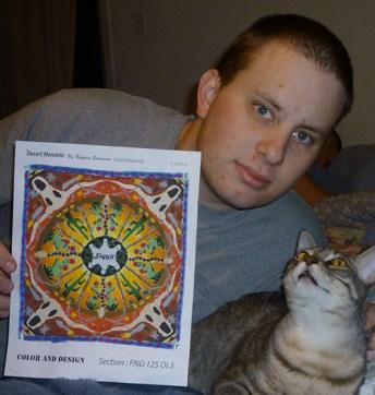 Mandala with Smokey