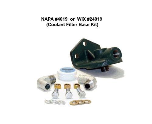 Filter Coolant Napa Kit