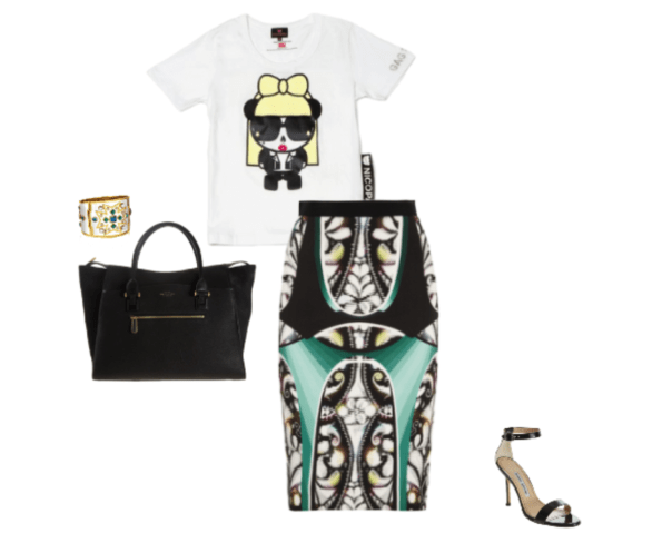 skirt-look