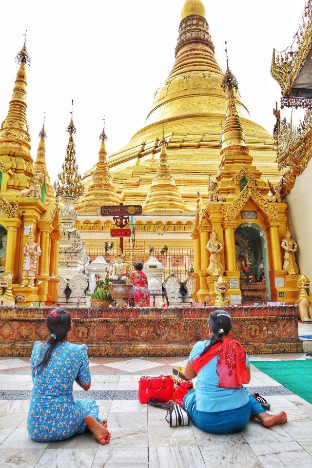 4 683x1024 - The Golden Pagoda - S H W E D A G O N Pagoda, Myanmar