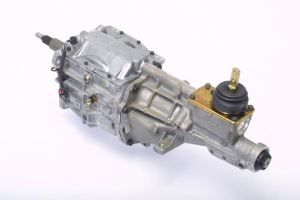 Tremec, 5 speed, T-5, fox body, hot rod, Heavy Duty, Ford, 2.95Z T5 Transmission, Improved Synchronizers Bearings, Torque Capacity 300 lbs/Ft, Short Throw, Shifter Included, Input Shaft 10 Spline, Output Shaft 28 Spline, easy install, lightweight, weights 75 lbs. dry, Exceptional shifts, fuel savings, has 0.63:1 overdrive, great overdrive, A favorite, weekend cruisers, street-rodders, kit car, manual, daily enthusiasts, Gear Ratios 1st Gear 2.95 2nd Gear 1.94 3rd Gear 1.34 4th Gear 1.00 5th Gear 0.63