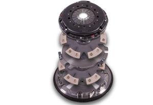 hms, hanlon motorsportsVengeance, Vengeance Clutch, Clutch, Clutches, Flywheel, Twin Disk, Transmission, Transmissions, Ceramic, Puck Clutch, Modular Motor, Ceramic Clutch, Ceramic Disk, S197, S550, Coyote Clutch, six puck, 6 puck, puck style clutch, 23 spline, 8 bolt, Vengeance, Six Puck Ceramic, Twin Disk Clutch, Flywheel, Ceramic Disk, Handles 950 WTQ, 950 Torque, 23-Spline, 8 Bolt Billet Steel, 164 Tooth Oz Flywheel, Race Use, 2011 2020 Mustang GT, MT-82 Transmission
