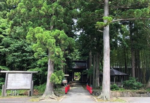 玉川寺の入口