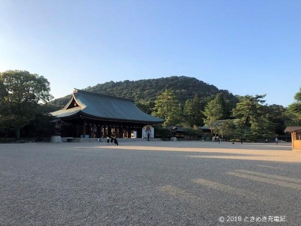 201910奈良一人旅・橿原神宮の境内
