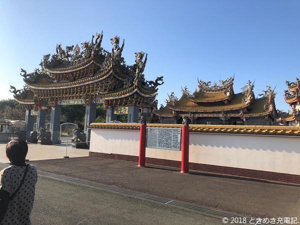 201911埼玉・坂戸の聖天宮。ゴージャスな外観