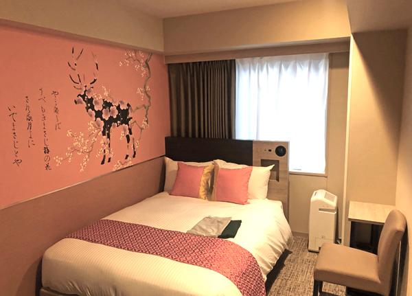 202007「ダイワロイヤルホテル D-プレミアム 奈良」の部屋。