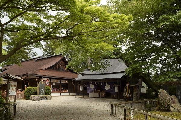 202104春の奈良一人旅。吉野山の世界遺産「吉水神社」の境内