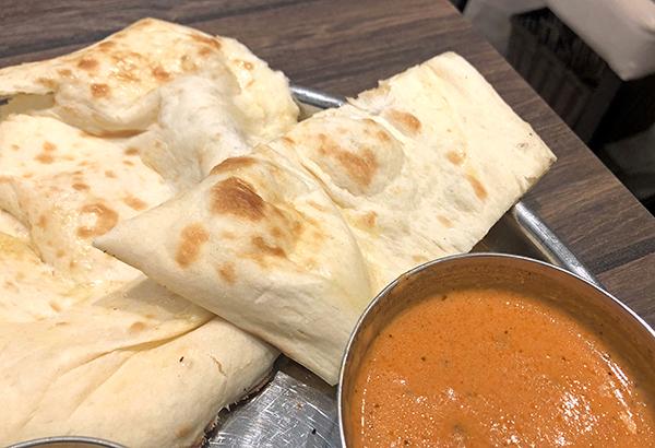 202101「インド料理ムンバイダイニング アトレ恵比寿店」でおかわりしたナン