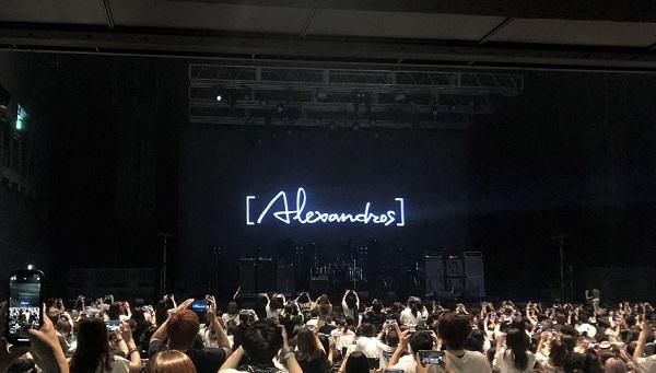 202106アレキサンドロス・ライブ「ALEATORIC TOMATO Tour 2021」@Zepp羽田。ライブ終了後 (2)
