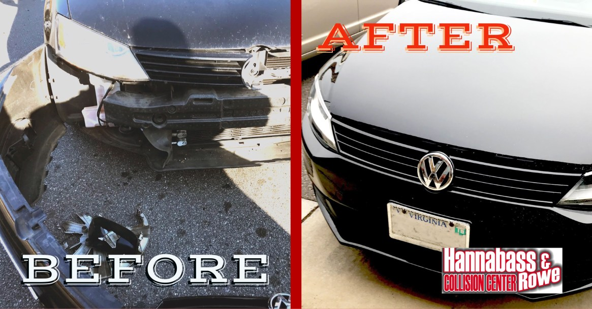 This Volkswagen Jetta came in just a few days before Christmas. By the end of the first week in January, the owner was happy to find her Jetta looking just as it was prior to the accident. The team worked hard over the holidays to ensure a quick return and quality repair.