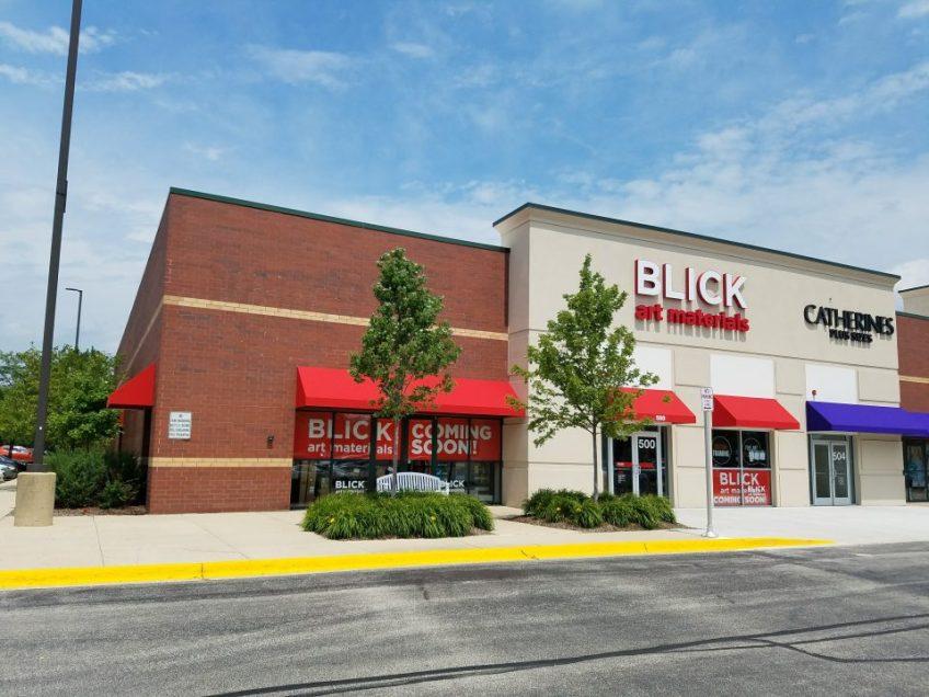 BLICK art materials- Schaumburg, Illinois