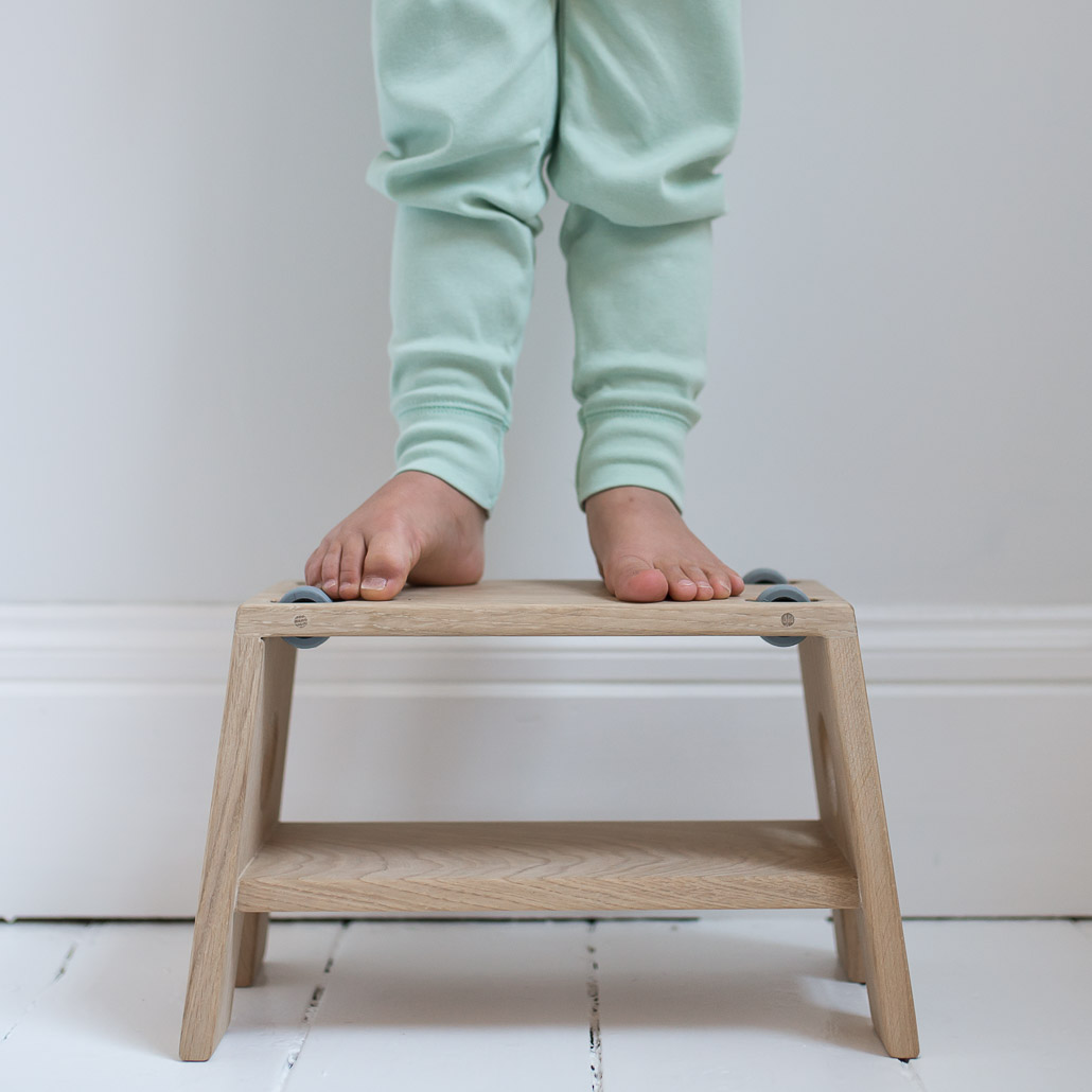 Eniito Scandinavian Nordic Design Snork pyjamas and Collect stool