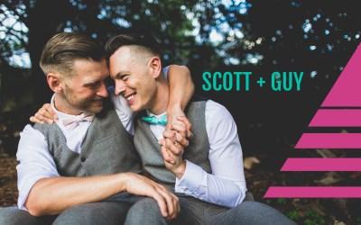 Crazy fun wedding at Barton Hall, Kettering | Scott & Guy