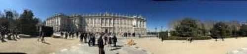 Royal Palace Panorama - Art and Tapas in Madrid