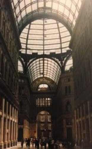 Umberto Galleria - Summer in Naples, Italy - HH Lifestyle Travel