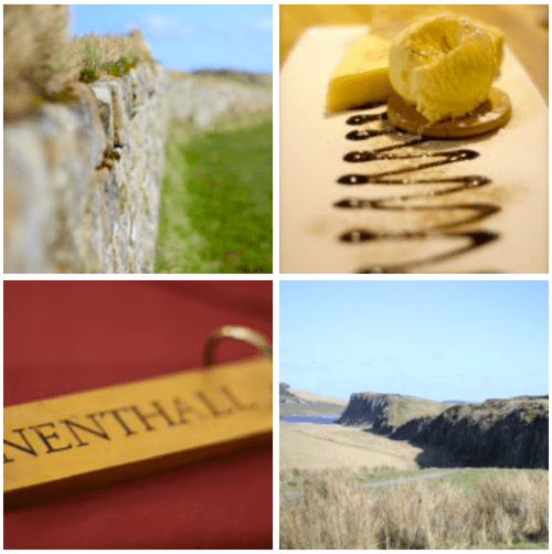 Hadrian's Wall Visit collage - 2017: My Travel Year in Review - HH Lifestyle Travel