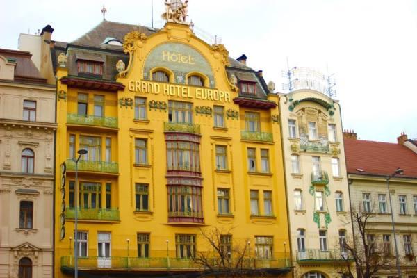 Hotel Grand Evropa - Art Nouveau - An Architectural Tour of Prague