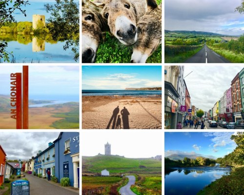 Ireland collage - 2017: My Travel Year in Review - HH Lifestyle Travel