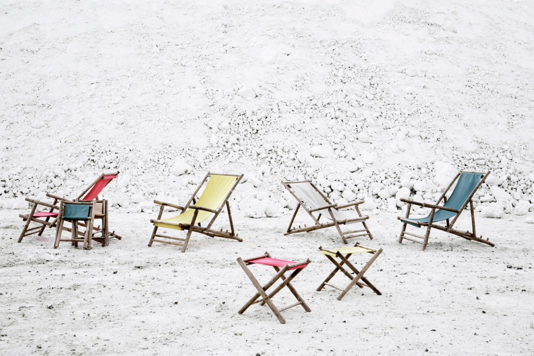 Broste deck chair